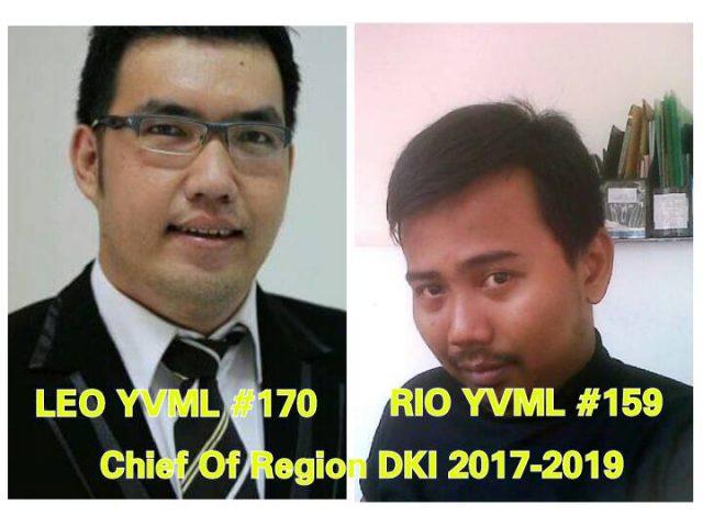 Chief Of Region Yamaha Vega Mailing List DKI periode 2017 – 2019